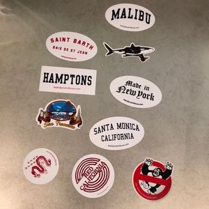 Rare brandy Melville stickers (limited) price vary